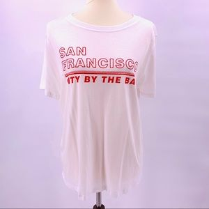 Forever 21 SF City By The Bay Graphic Tee 0X